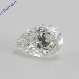 Pear Cut Loose Diamond 1 Ct WGI Cert C200239